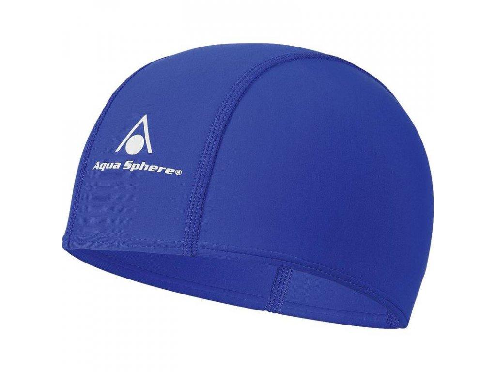 Koupací čepice AQUA SPHERE AQUA FIT blue