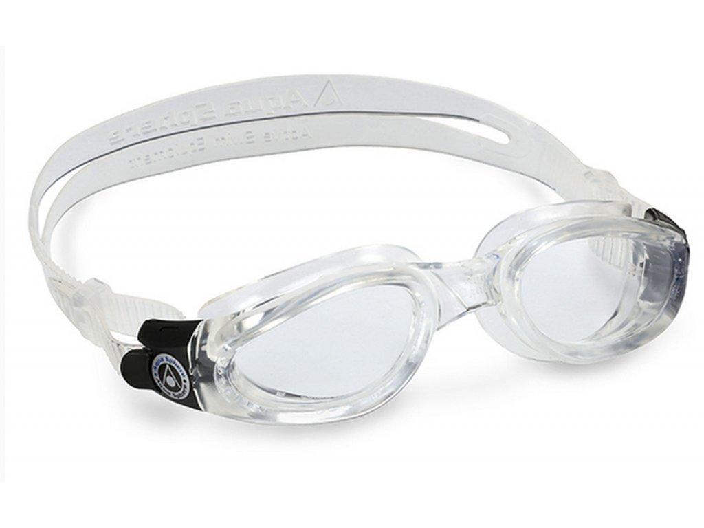 Plavec. brýle AQUA SPHERE KAIMAN lens clear white