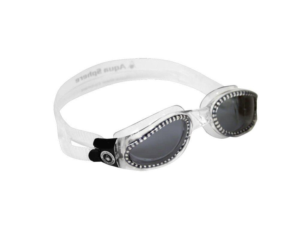 Plavec. brýle AQUA SPHERE KAIMAN lens dark trans/grey