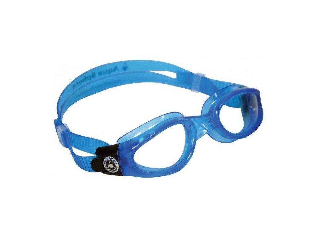 Plavec. brýle AQUA SPHERE KAIMAN lens clear blue
