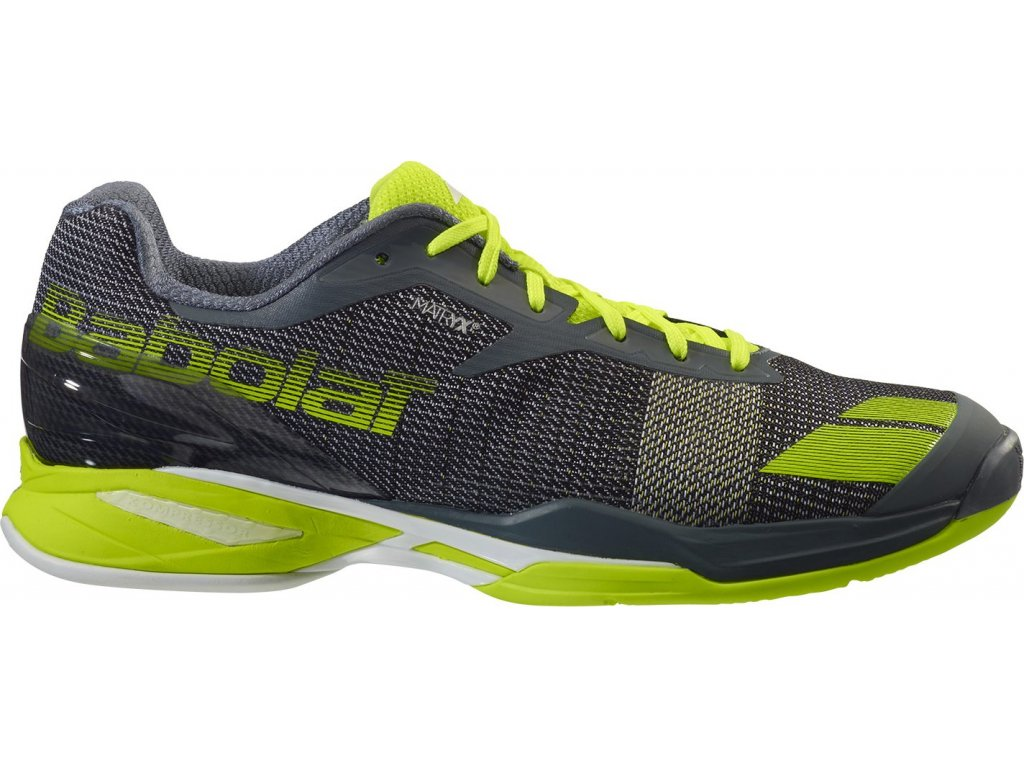 Obuv tenisová BABOLAT Jet Clay grey/yellow