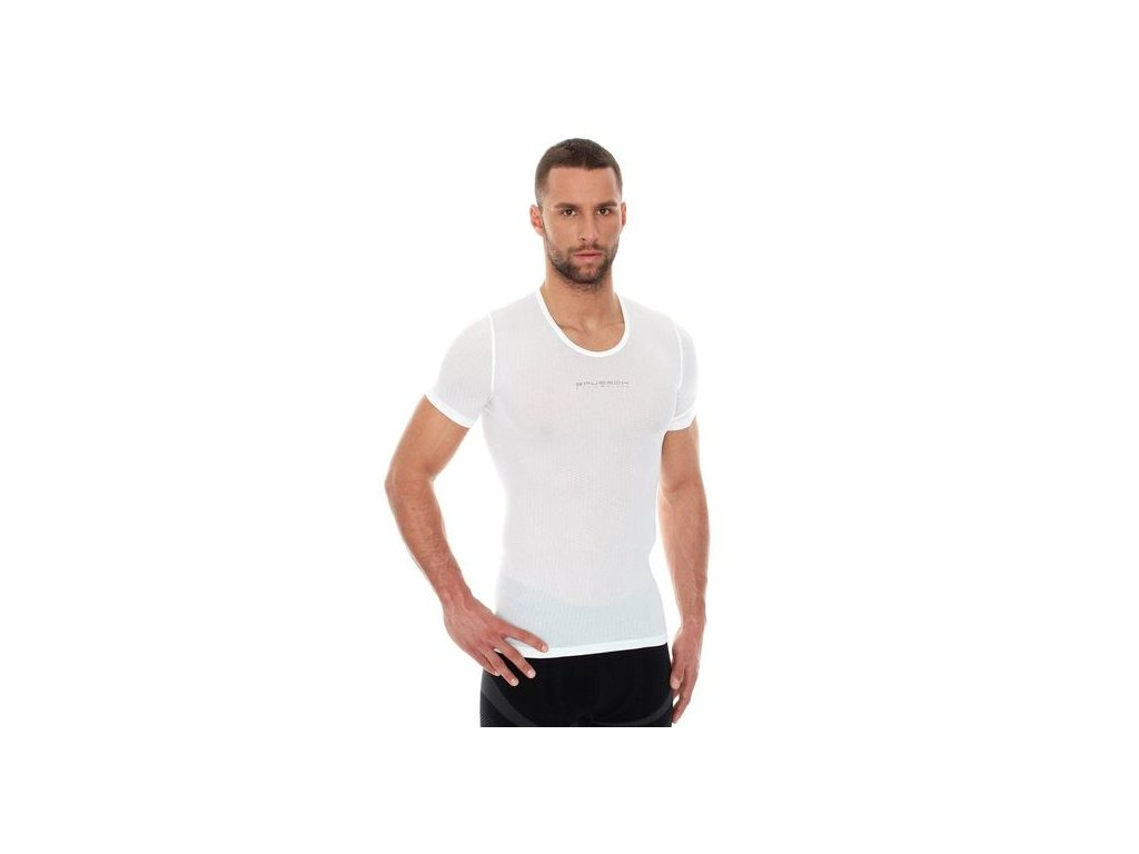 Triko BRUBECK 3D Base Layer white