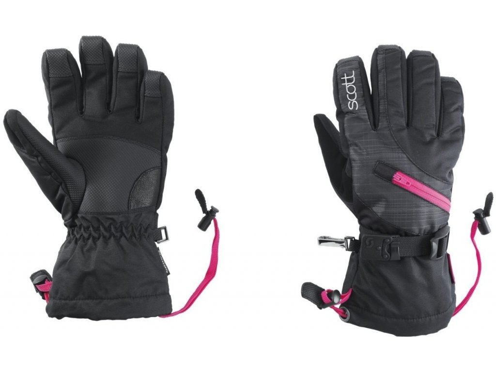 Rukavice SCOTT TRAVERSE W's black/pink