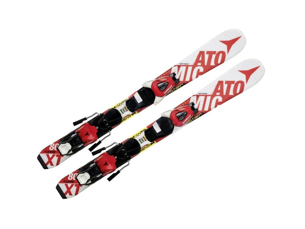 ATOMIC REDSTER Jr. white/red + E XTE 045 red/white 16/17