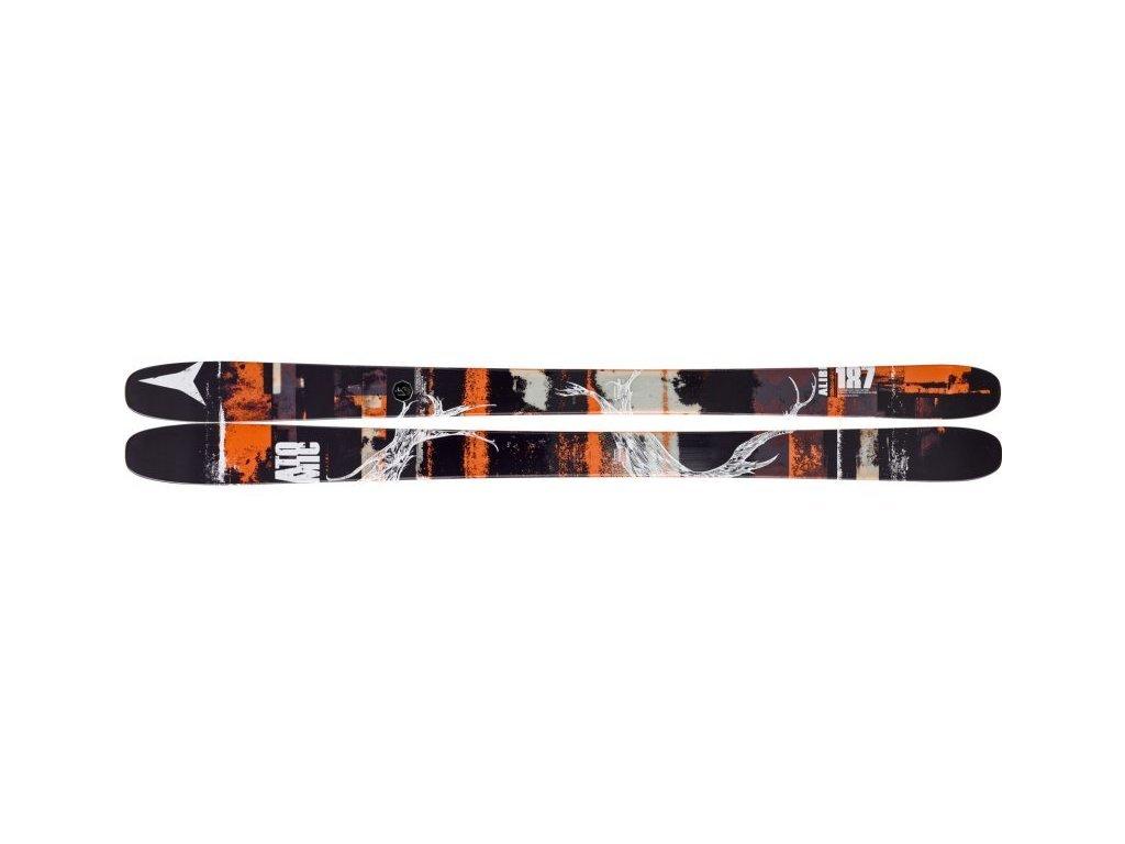 ATOMIC ALIBI black/orande 173 cm + NR FFG 12