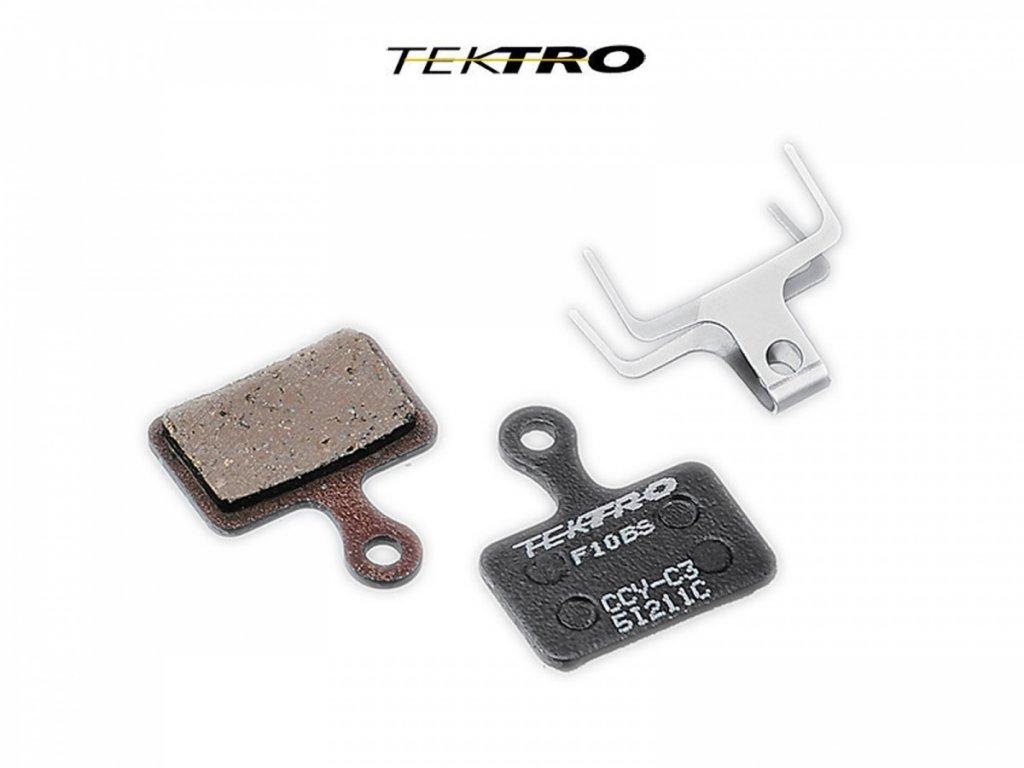 AUTHOR TEKTRO Brzdové destičky TK-F10BS - R510/310 (2ks)