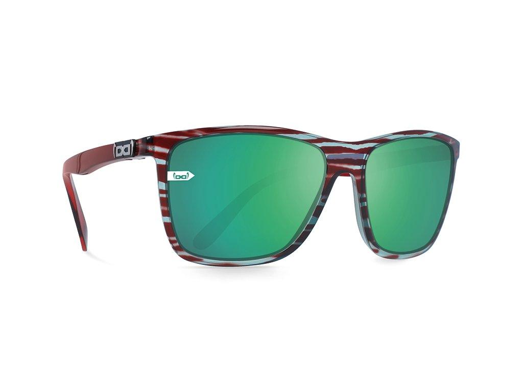 Sluneční brýle Gi15 GLORYFY ST.Pauli Sun Green