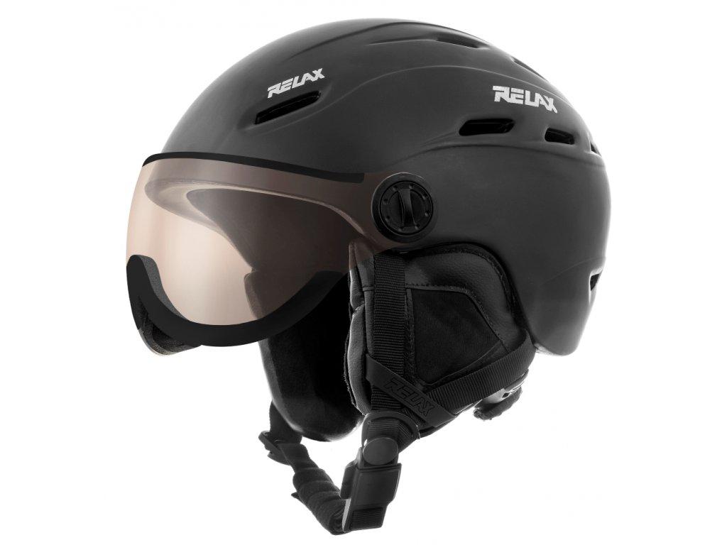 Lyžařská helma RELAX PREVAIL VISOR