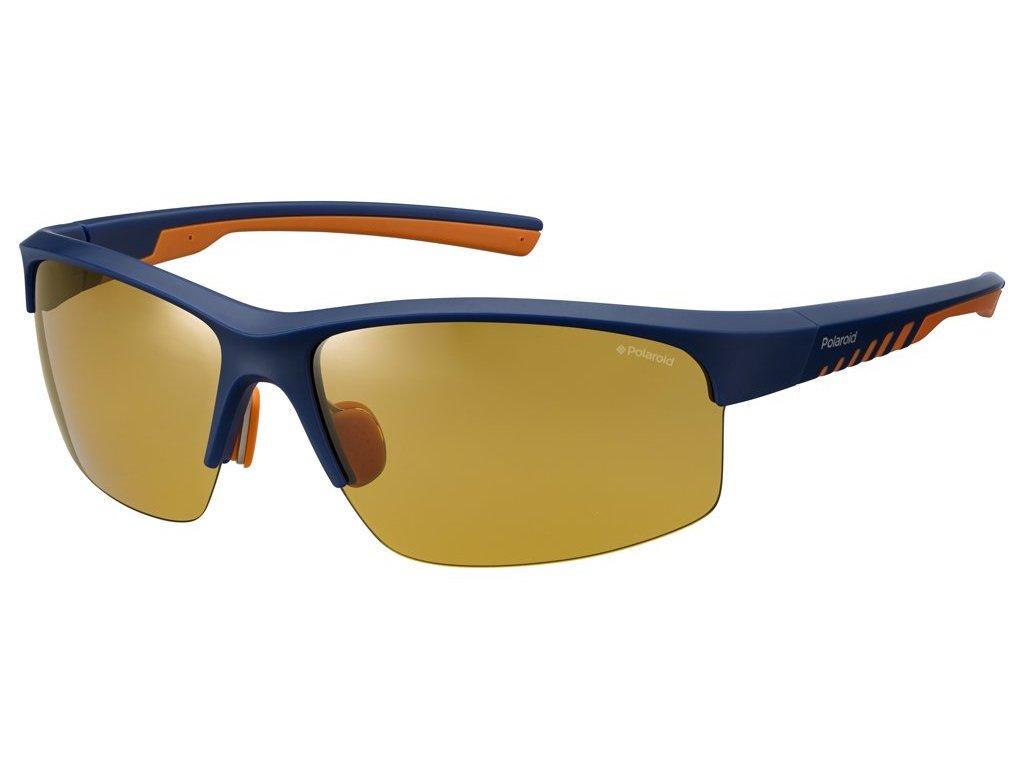 Sluneční brýle POLAROID 7018/S Matte Black Cryorng/polarized Yellow 2020