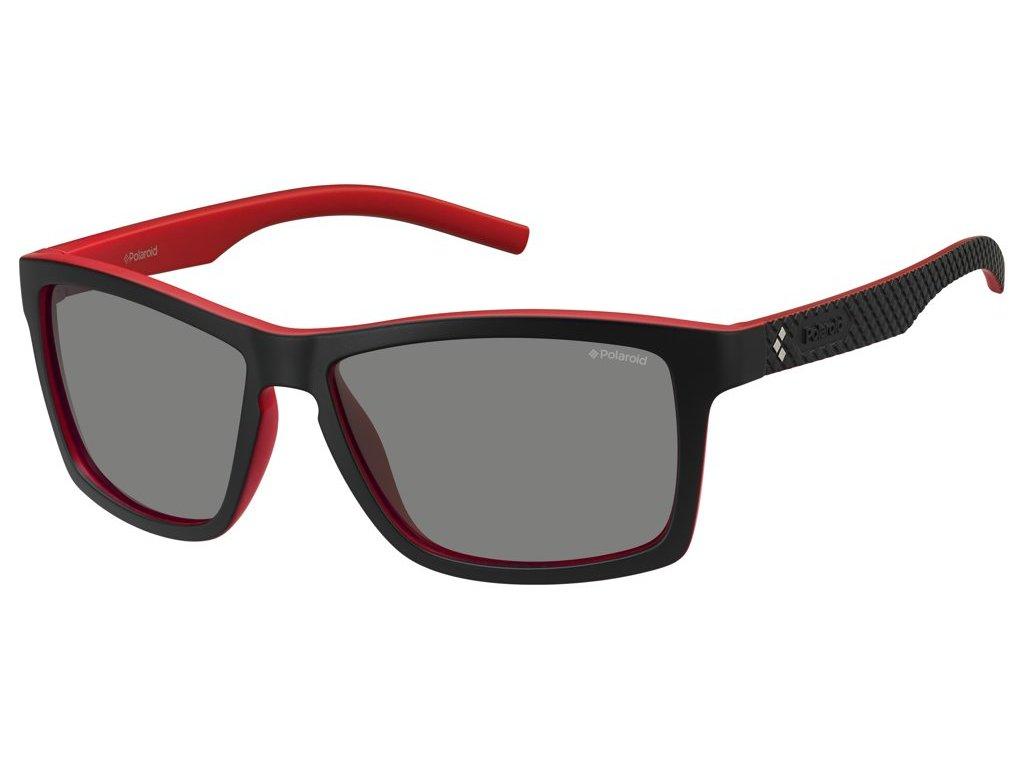 Sluneční brýle POLAROID PLD 7009/S Black Red/polarized Grey 2020