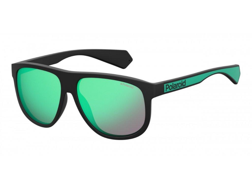 Sluneční brýle POLAROID PLD 2080/S Black Green/Grey Mit Green 2020