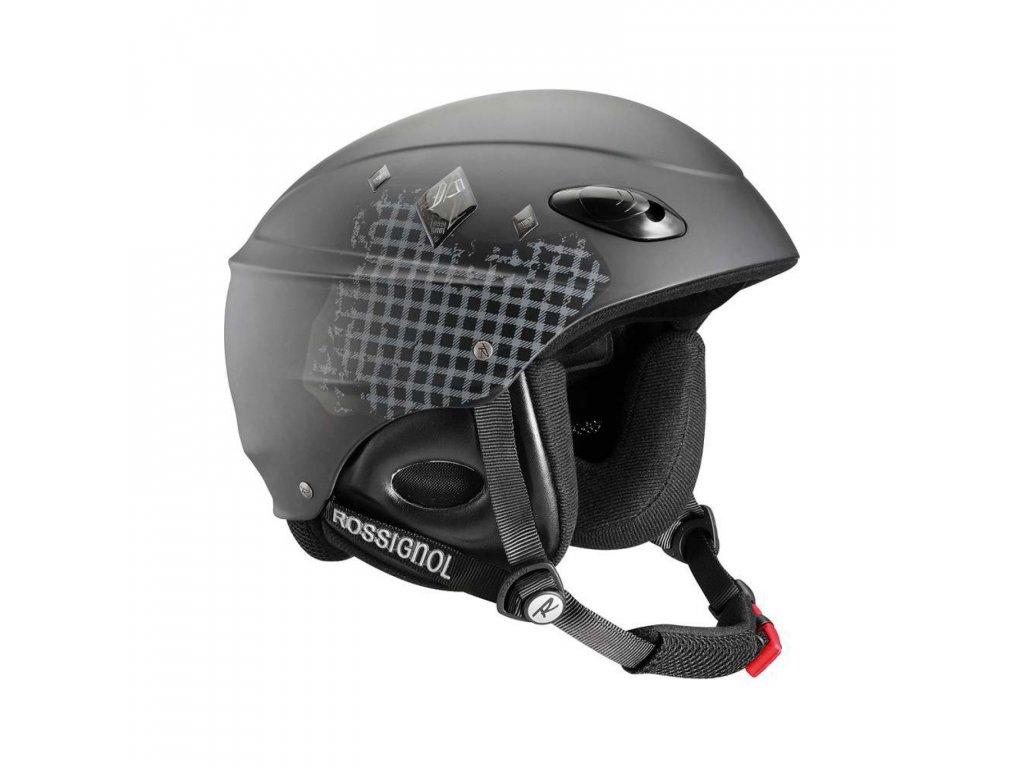 ROSSIGNOL TOXIC Freeride černá matná helma lyžařská