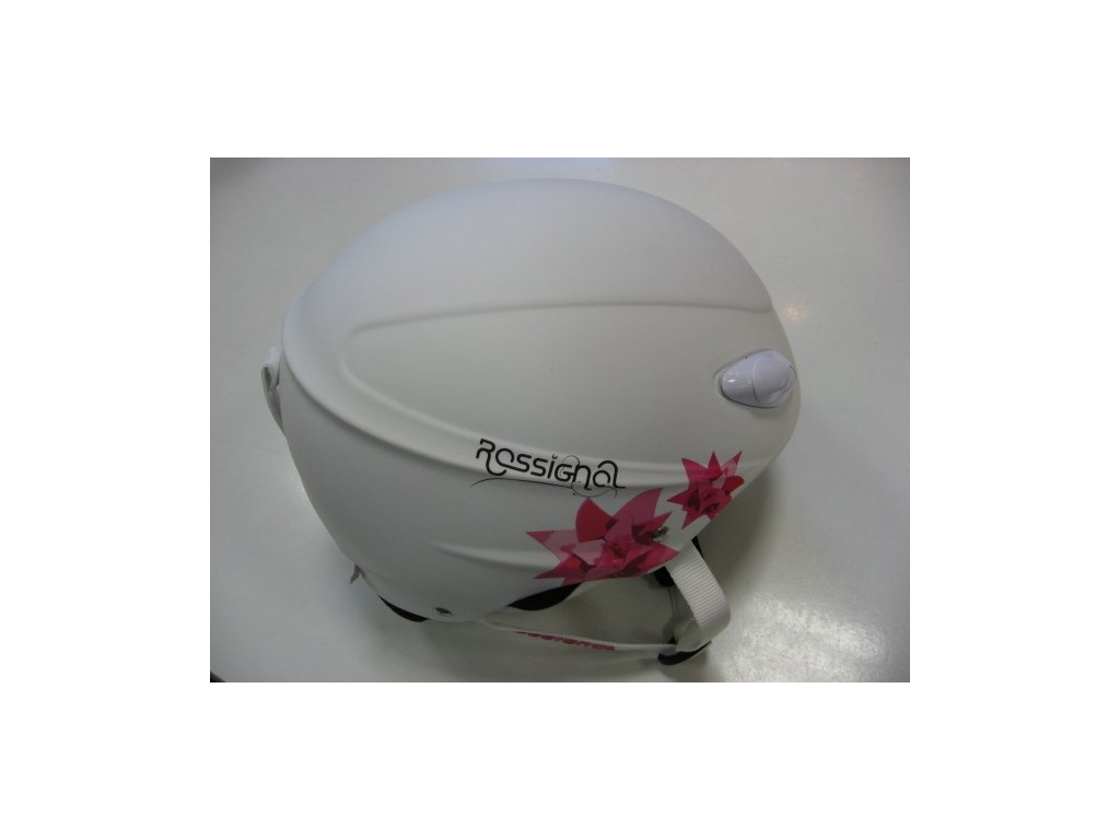 ROSSIGNOL TOXIC Freeride bílá matná helma lyžařská