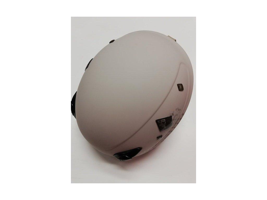 ROSSIGNOL TOXIC Freeride béžová matná helma lyžařská
