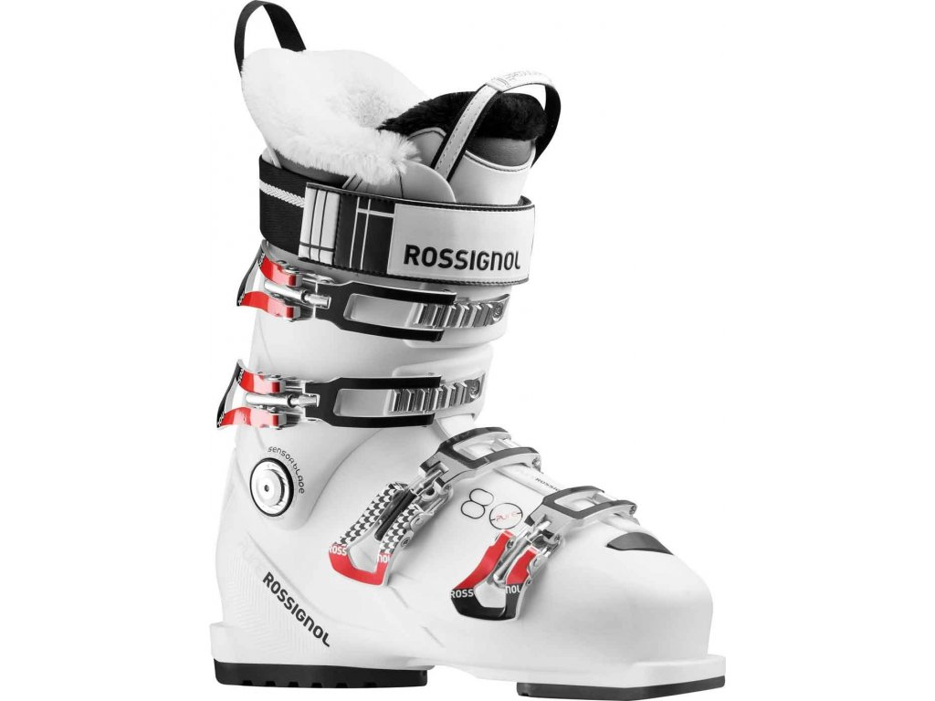 Rossignol Pure 80 W whi/red - 17/18