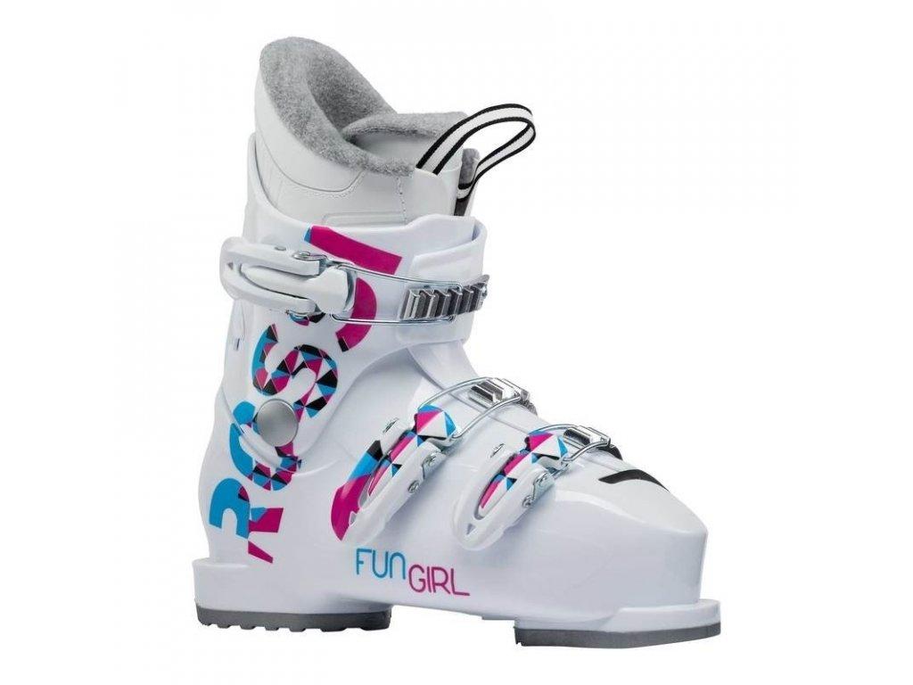 Boty lyžařské ROSSIGNOL FUN GIRL J3 Wht 19/20