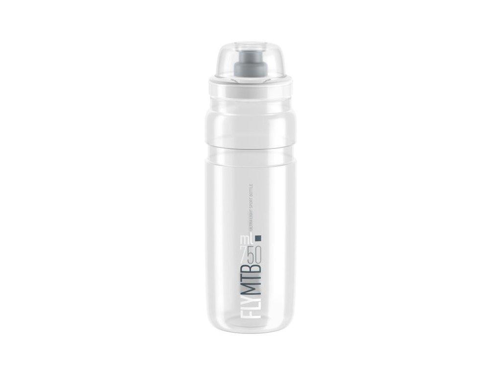 ELITE láhev FLY MTB 750 ml čirá/grey