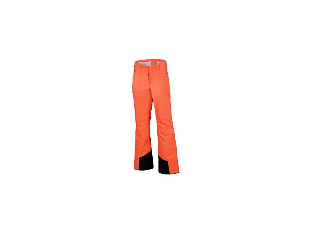 Kalhoty HALTI VAKKA W dámské neon fiery coral