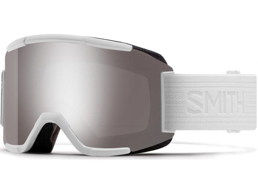 Brýle SMITH SQUAD white out chromapop sun platinum mirror 17/18