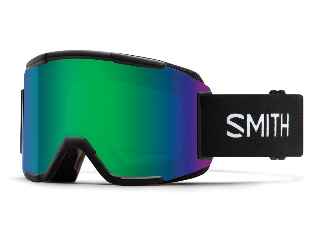 Brýle SMITH SQUAD black green sol-x mirror 18/19