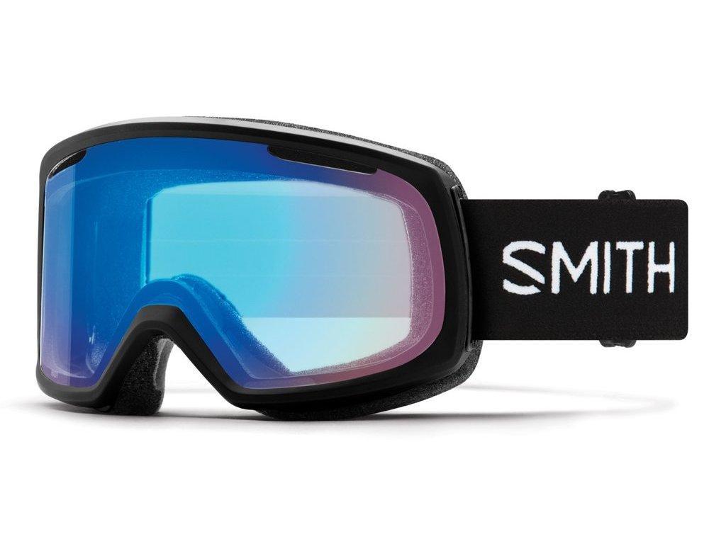 Brýle SMITH RIOT black chromapop storm rose flash 18/19