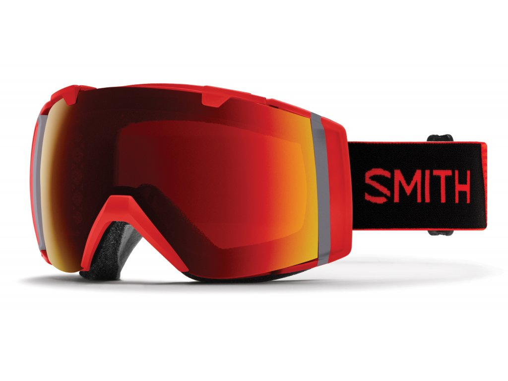 Brýle SMITH I/O white vapor chromapop everyday red 19/20