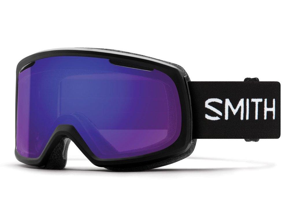 Brýle SMITH RIOT black chromapop everyday violet mirror 19/20