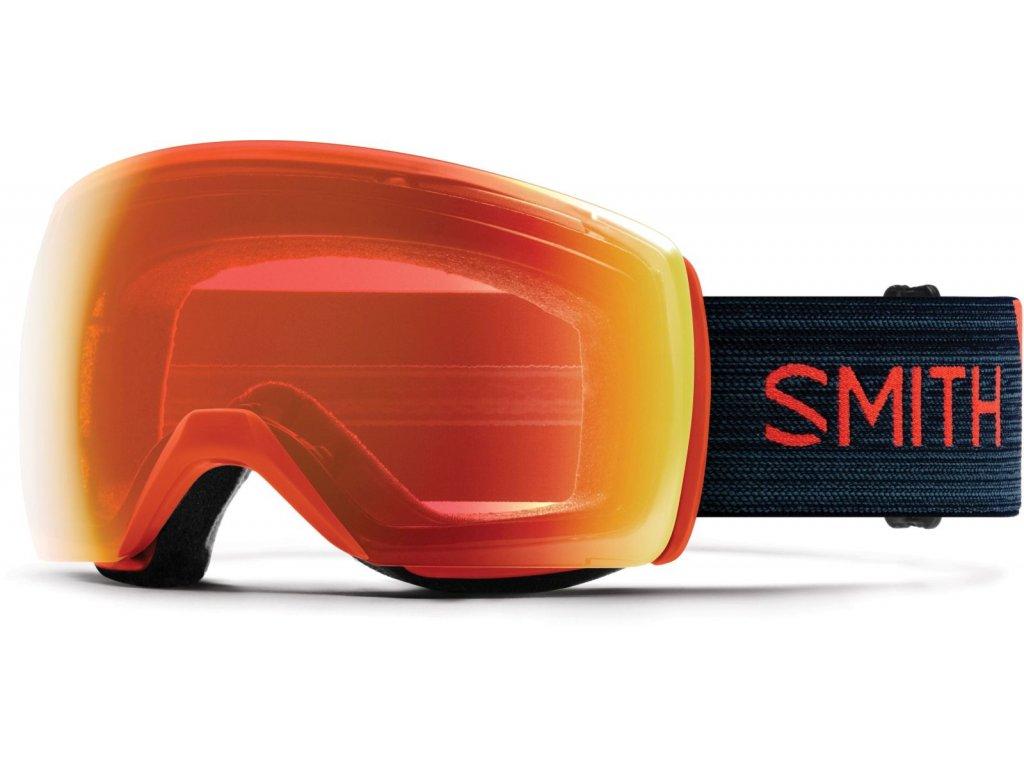 Brýle SMITH SKYLINE XL red rock chromapop everyday red 19/20