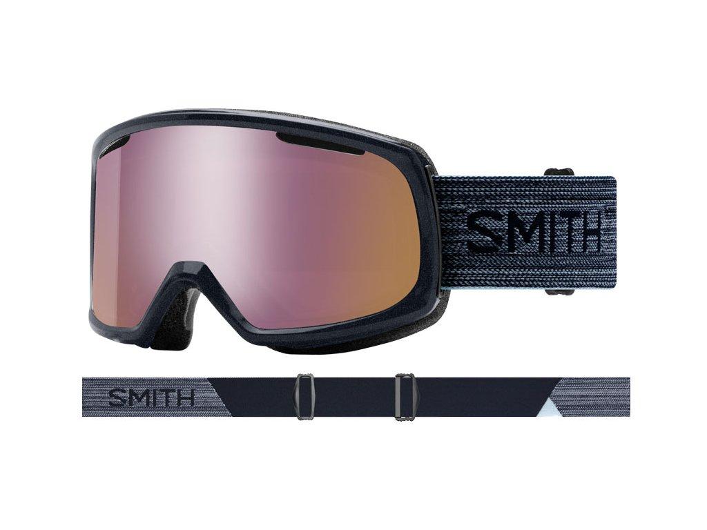 Brýle SMITH RIOT metallic ink/chromapop everyday rose G 19/20