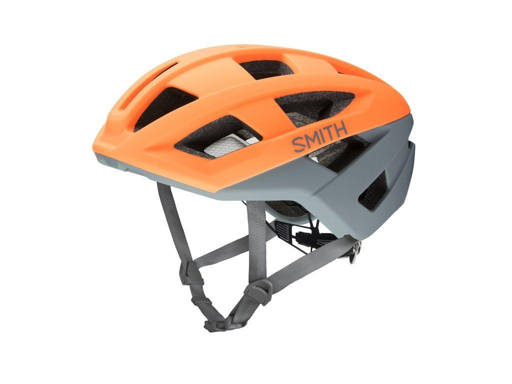 Cyklistická helma SMITH PORTAL Matte Heat Charcoal 2020