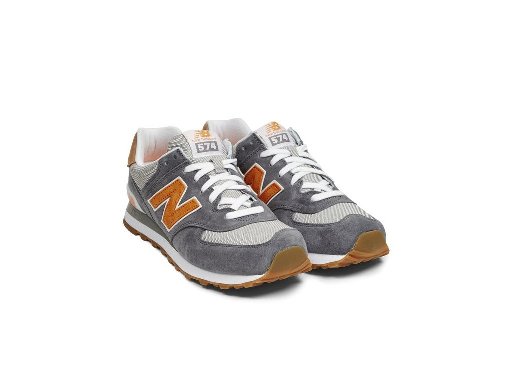 sneakers new balance ml574 pigskin canvas castle rock 54417 674 2