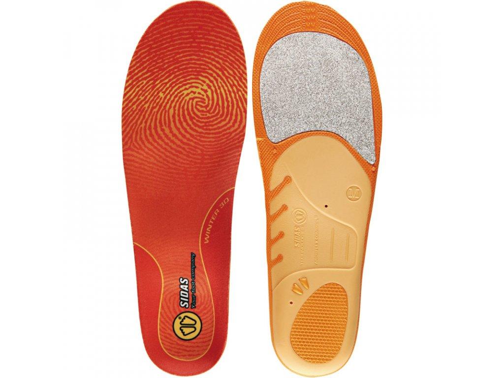 Vložky do lyžařských bot SIDAS UNI 3D WINTER