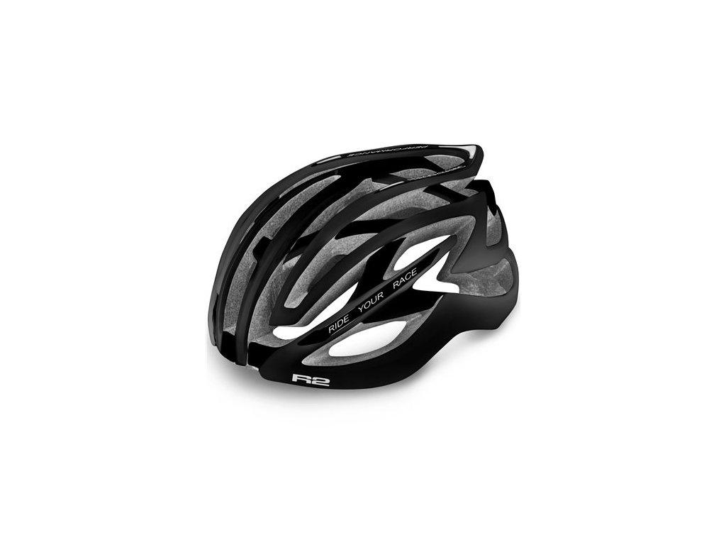 Cyklistická helma R2 EVOLUTION - černá/matná