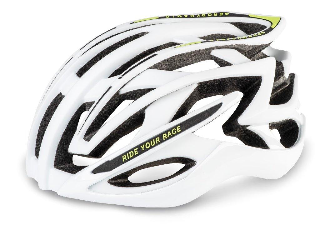 Cyklistická helma R2 EVOLUTION - bílá/matná, lesklá