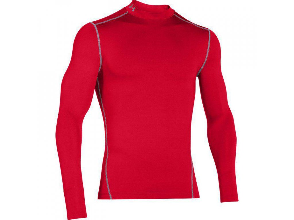 Pánský kompresní rolák - Under Armour CG MOCK - red