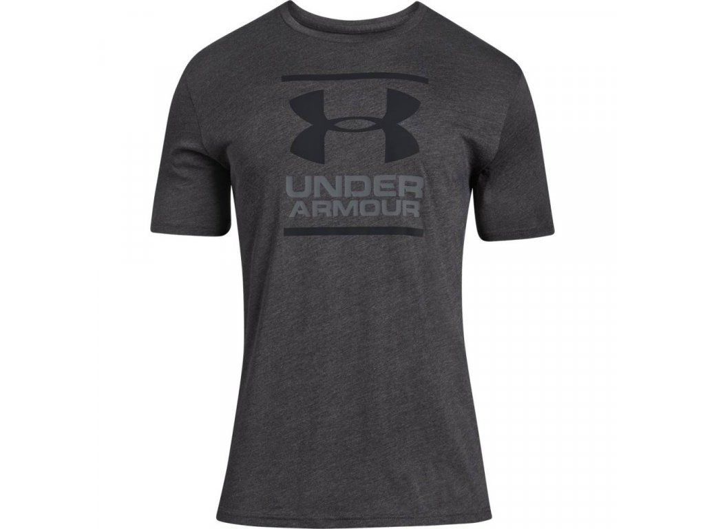 TRIKO UNDER ARMOUR - BGL Foundation SS T - Charcoal