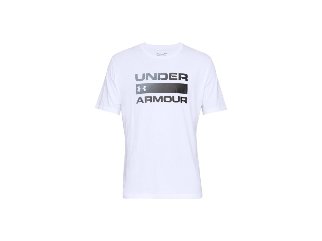 TRIKO UNDER ARMOUR - Team Issue Wordmark SS - White
