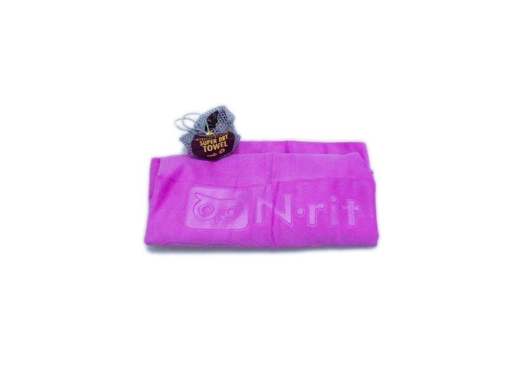 Funkční ručník N-RIT super dry towel PURPUR
