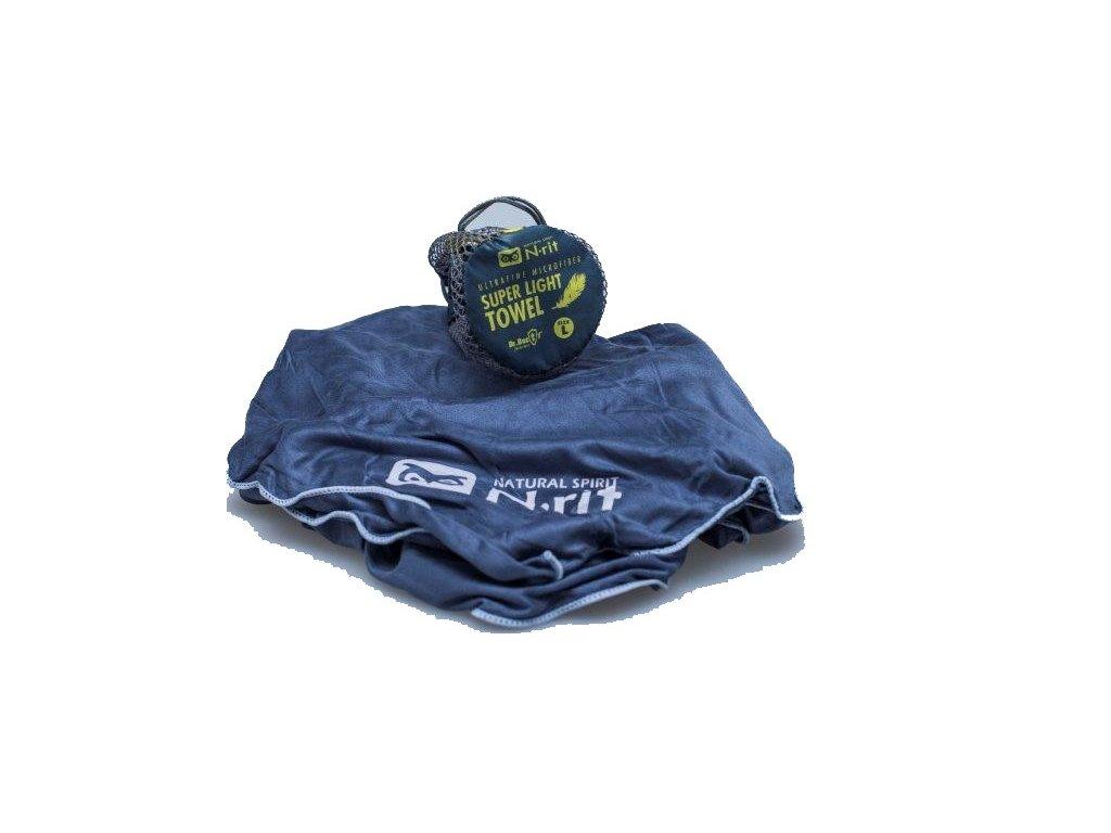 Funkční ručník N-RIT super ligth towel NAVY