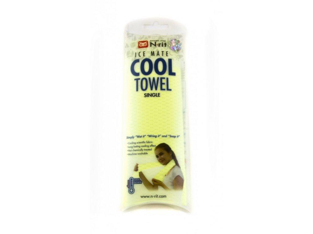 Chladivý ručník N-RIT ICEMATE COOL Towel SINGLE Green