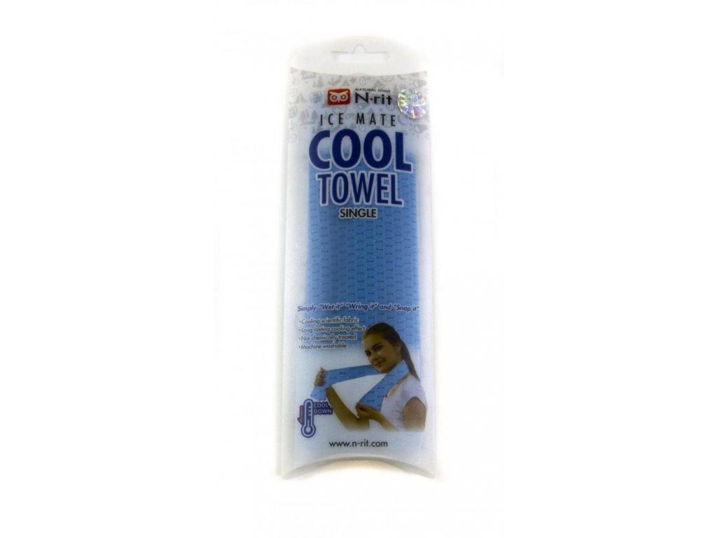 Chladivý ručník N-RIT ICEMATE COOL Towel SINGLE Blue