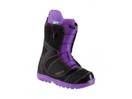 Boty SNB BURTON MINT W´S black/purple 15/16