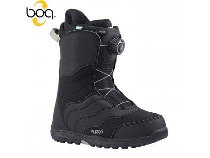 Boty SNB BURTON MINT BOA - black 17/18