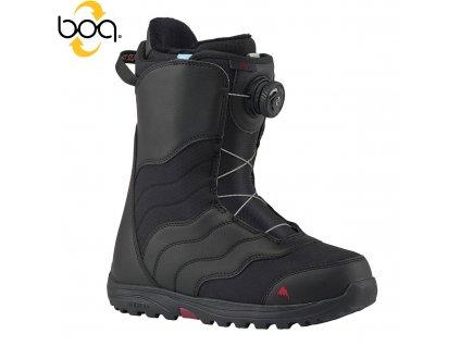 Boty SNB BURTON MINT BOA W´S black/black 19/20