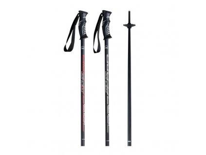 Hůl lyžařská KOMPERDELL SPEED ROCKER black/silver