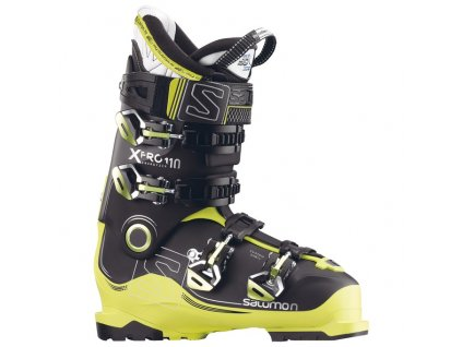 SALOMON X PRO 110 black/acide green/anthr. - 17/18