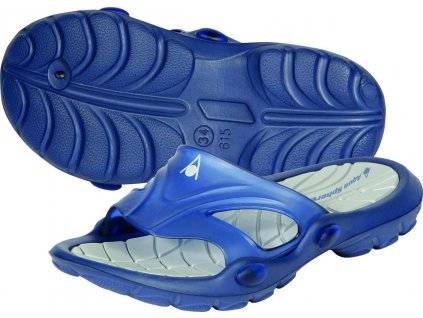 Pantofle AQUA SPHERE ULTRA LIGHT III. JUNIOR navy blue
