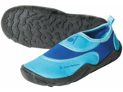 Boty AQUA SPHERE BEACHWALKER KIDS blue/light blue