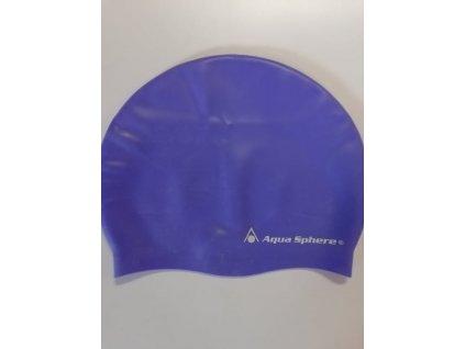 Koupací čepice AQUA SPHERE CLASSIC SILICONE purple