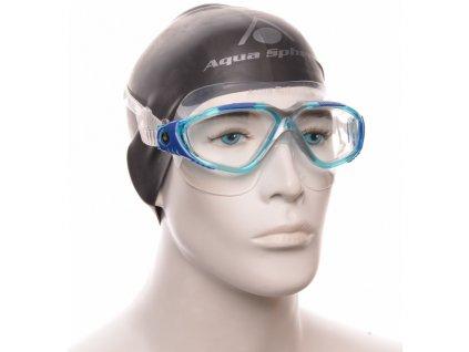 Plavec. brýle AQUA SPHERE VISTA clear lens aqua/blue
